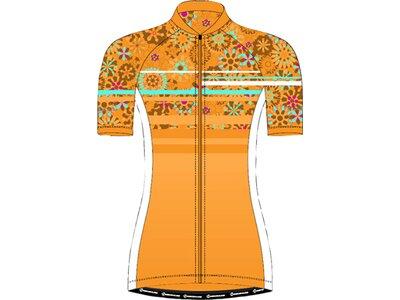 NAKAMURA Damen Fahrrad-Trikot Tiara Orange