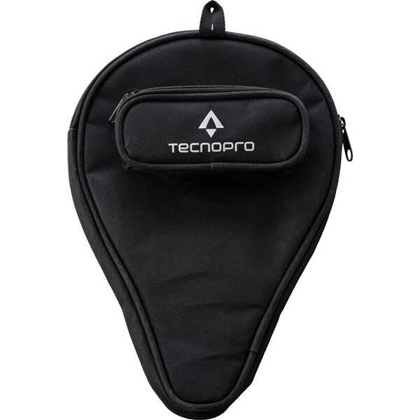 TECNOPRO Tischtennisschläger-Hülle mit Ballfach