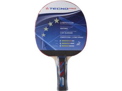 TECNOPRO Tischtennisschläger Competition 4 Stern Blau