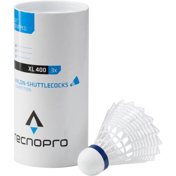 TECNOPRO Badmintonbälle XL 400 3er-Dose