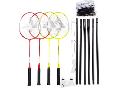 TECNOPRO Badmintonset Speed 200 Gelb