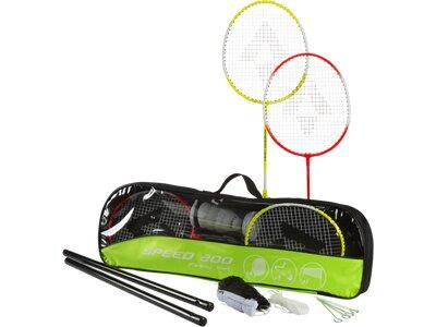 TECNOPRO Badmintonset Speed 200 Family Gelb