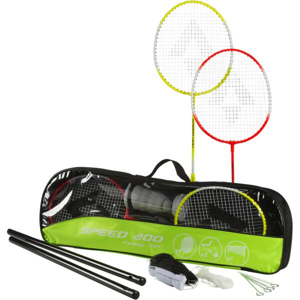 TECNOPRO Badmintonset Speed 200 Family
