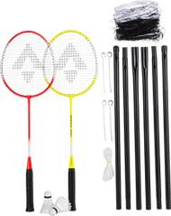 TECNOPRO Badmintonset Speed 200 2 Play. Net Set