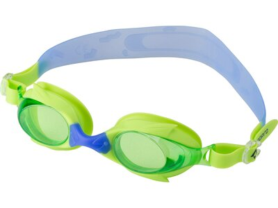 TECNOPRO Kinder Schwimmbrille Shark Pro Kids Grün
