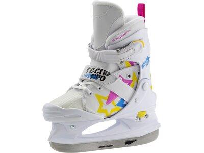 TECNOPRO Kinder Eishockeyschuhe Delta Soft Jr. Girl Weiß