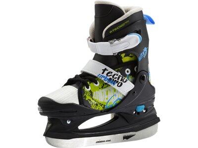 TECNOPRO Kinder Eishockeyschuhe Delta Soft Jr. Boy Schwarz
