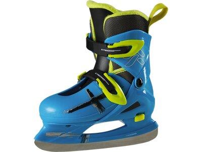 TECNOPRO Kinder Eishockey-Schalenschuh Leo Jr. Blau