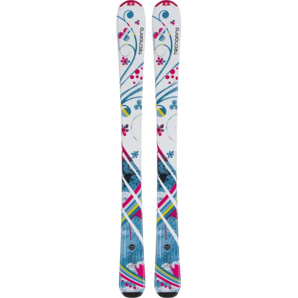 TECNOPRO Kinder All-Mountain Ski Sweety Jr. Weiß