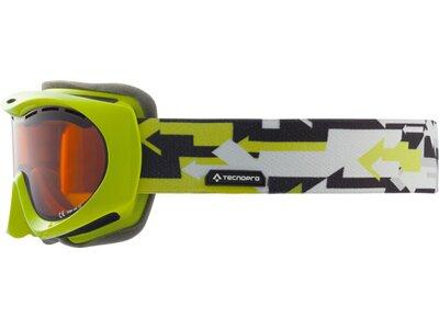 TECNOPRO Kinder Skibrille Splash Concept Schwarz