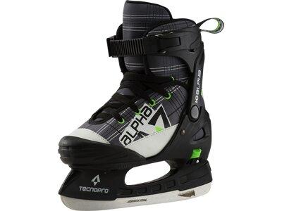 TECNOPRO Kinder Eishockeyschuhe Alpha Soft Boy Grau