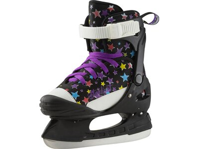 TECNOPRO Kinder Eishockeyschuhe Alpha Soft Girl Schwarz