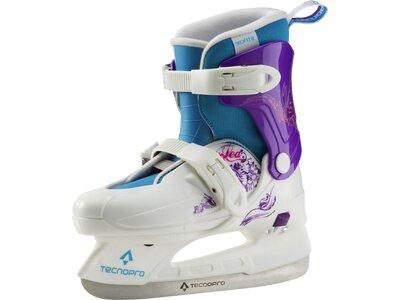 TECNOPRO Kinder Eishockey-Schalenschuh Lea Jr Weiß