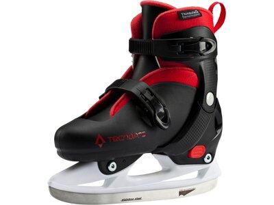 TECNOPRO Kinder Eishockey-Schalenschuh Leo Jr Schwarz