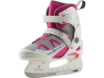 TECNOPRO Kinder Eishockeyschuhe Flash Jr. Girl II Weiß