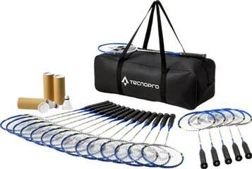TECNOPRO Badmintonschläger Badm-Set Schule