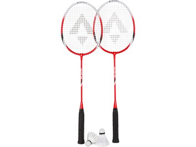TECNOPRO Badmintonset Elite 30 Rot