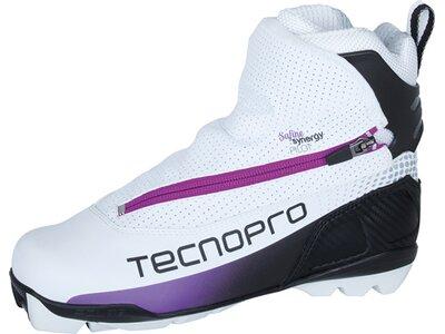TECNOPRO Damen Langlaufschuhe Safine Synergy Pilot Weiß