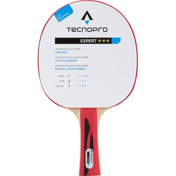 TECNOPRO Tischtennisschläger Expert 3 Stern