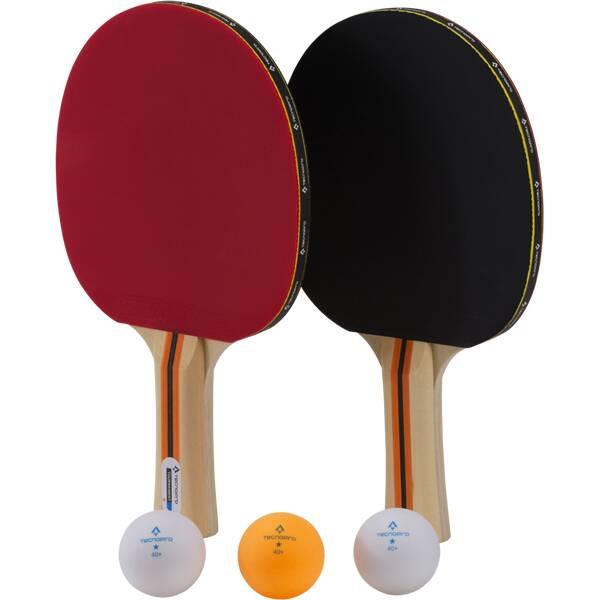 TECNOPRO Tischtennis-Set Tournament DX Schwarz