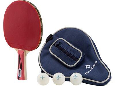 TECNOPRO Tischtennis-Set Expert Pro Schwarz