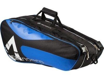 TECNOPRO Tennistasche 3-Racket Bag Schwarz