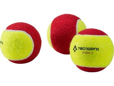 TECNOPRO Tennisball Stage 3 Gelb