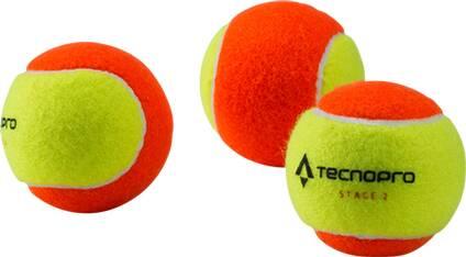 TECNOPRO Kinder Tennisbälle Stage 2