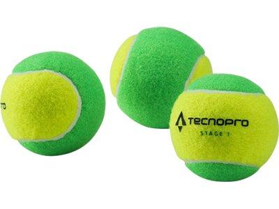 TECNOPRO Tennisball Stage 1 Gelb