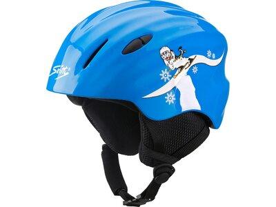 TECNOPRO Kinder Helm CS JR YJ-20 Skitty Blau