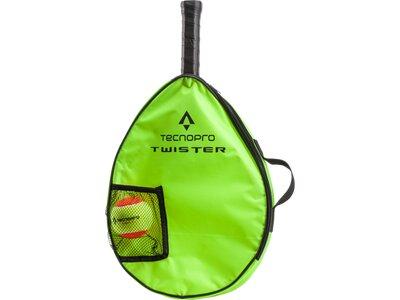 """TECNOPRO Kinder Tennisset """"Twister 21"""" besaitet Gelb"""