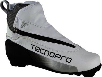 TECNOPRO Damen Langlaufschuhe Safine Sonic Pro Prolink Weiß
