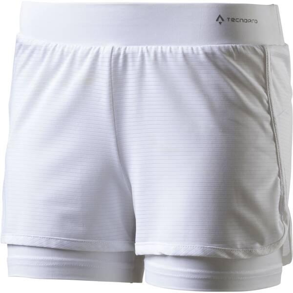 TECNOPRO Kinder Shorts Shorts Pamela Weiß