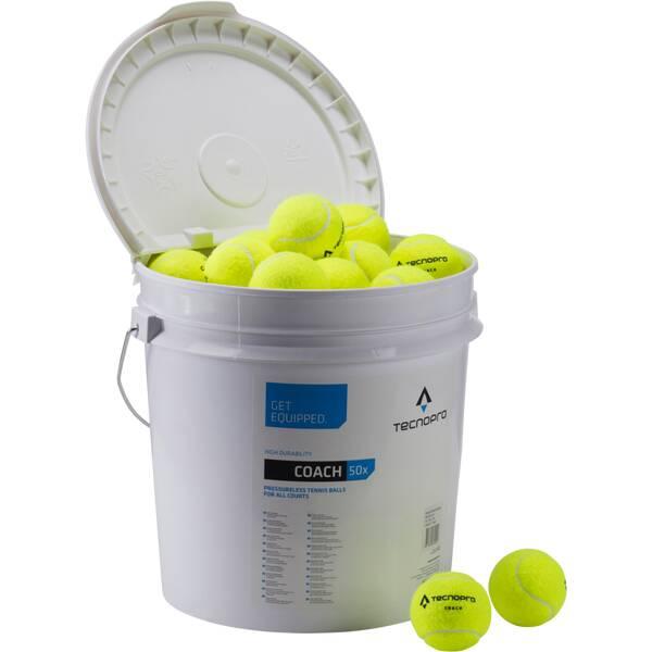 TECNOPRO Tennisbälle Coach 50