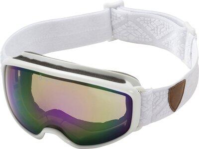 TECNOPRO Damen Skibrille Safine Ten-Seven Revo Weiß