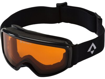 TECNOPRO Kinder Skibrille Pulste S OTG Schwarz
