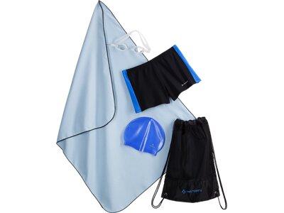 TECNOPRO Kinder Badeanzug Kn-Schwimmset Schwarz