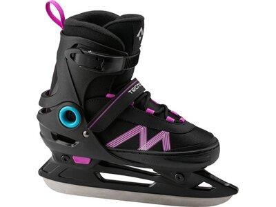 TECNOPRO Kinder Eishockeyschuhe Flash Adj. Jr. Girl 2.0 Schwarz