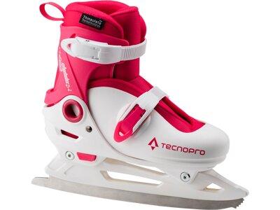 TECNOPRO Kinder Eishockey-Schalenschuh Lea Jr 2.0 Weiß