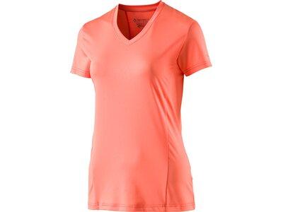 TECNOPRO Damen Shirt D-T-Shirt Rosa wms Orange