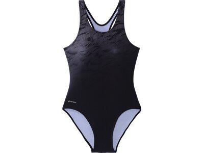TECNOPRO Damen Badeanzug D-Schwimmanzug Ritea Schwarz