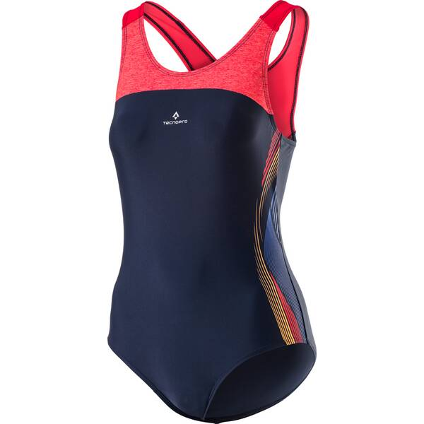 TECNOPRO Damen Badeanzug D-Schwimmanzug Ruria