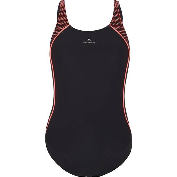 Bademode - TECNOPRO Damen Badeanzug D Schwimmanzug Rusantia › Schwarz  - Onlineshop Intersport