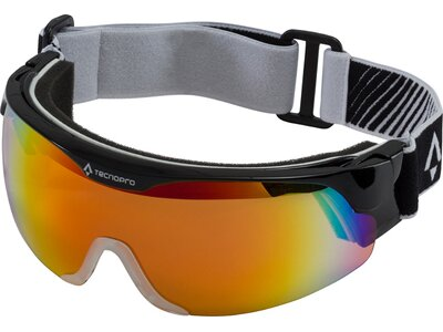 TECNOPRO Herren Skibrille Active S Nordic Visor Schwarz