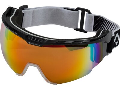 TECNOPRO Herren Skibrille Active L Nordic Visor Schwarz