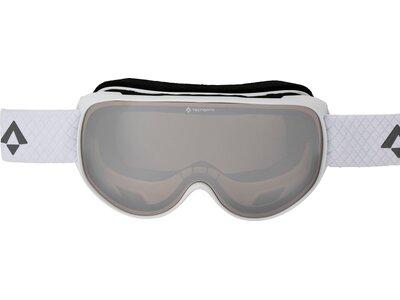 TECNOPRO Damen Brille Skibrille Safine M Mirror Weiß