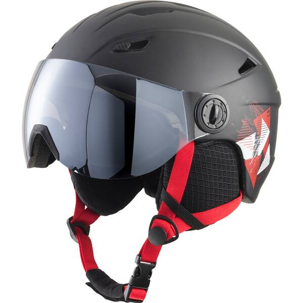TECNOPRO Kinder Helm Skihelm Pulse JR S2 Visor HS-016