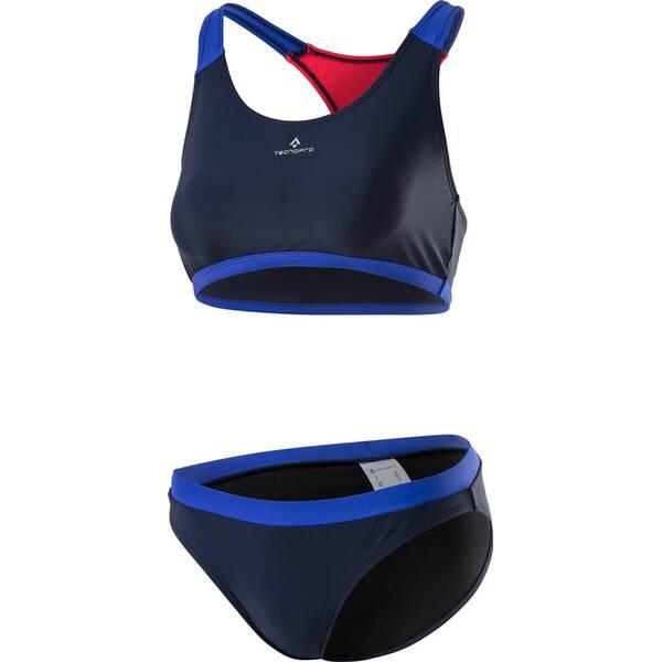 Bademode - TECNOPRO Damen Bikini Rafaela › Blau  - Onlineshop Intersport