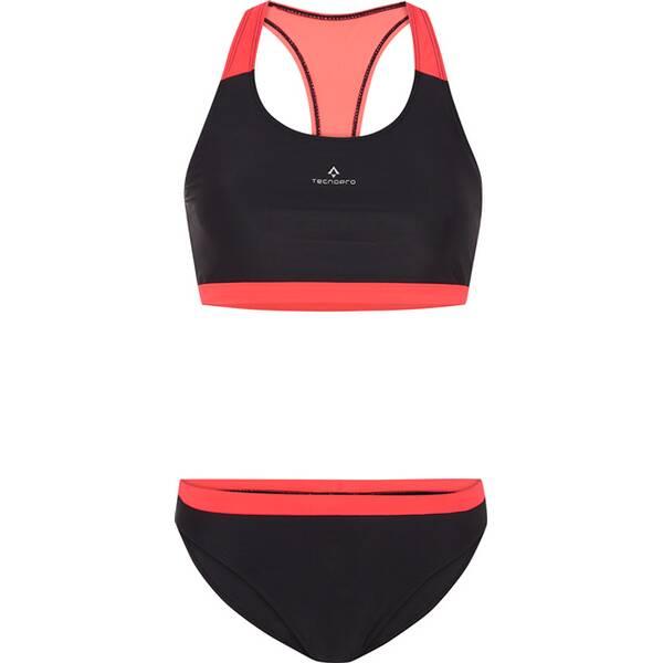 Bademode - TECNOPRO Damen Bikini Rafaela › Schwarz  - Onlineshop Intersport