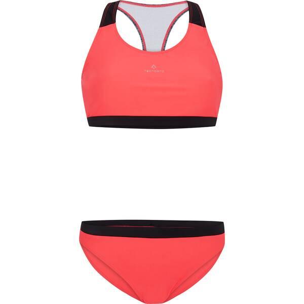 Bademode - TECNOPRO Damen Bikini Rafaela › Rot  - Onlineshop Intersport